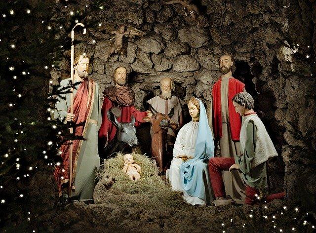 Narození Ježíška v tradiční ikonografii